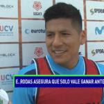 Elsar Rodas espera vencer a Sport Boys y mantener este ritmo