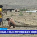 Piden al Gobierno Regional financie proyecto de electrificación en Mocan