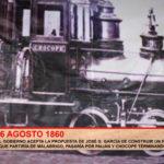 Hace 159 años el Gobierno aceptó construcción de un ferrocarril situado en la avenida España