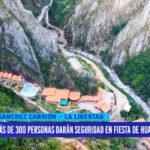 Más de 300 personas darán seguridad en fiesta de Huamachuco
