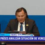 Grupo de Lima: Países analizan situación de Venezuela