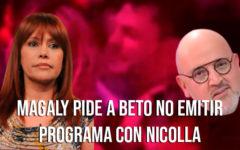 Magaly cree que Beto Ortiz no debe de emitir su programa con Nicola Porcella