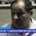 """Luis Yika: """"El agricultor peruano debe usar tecnología"""""""