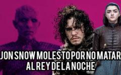 """Jon Snow habla de su """"enfrentamiento"""" truncado contra el Rey de la Noche"""