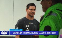 Piccolo Clemente tuvo caluroso recibimiento a su llegada a Trujillo