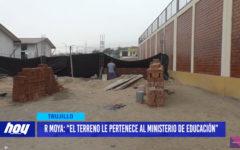 """Rafael Moya: """"El terreno le pertenece al Ministerio de Educación"""""""