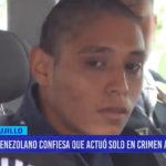 Venezolano confiesa que actuó solo en crimen a taxista