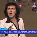 España: Detalles exclusivos del funeral de Camilo Sesto