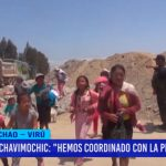 """Chavimochic: """"Hemos coordinado con la PNP desalojo"""""""