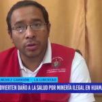 Advierten daño a la salud por minería ilegal en Huamachuco