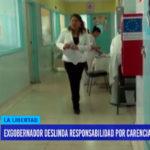 Exgobernador deslinda responsabilidad por carencias en hospitales