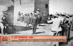 Ejecutaron a soldado de caballería por homicidio de sargento Manuel Cerna