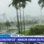 Huaracán Dorian golpea las Bahamas con fuerza catastrófica