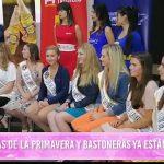 Reinas de la primavera y bastoneras ya están en Perú