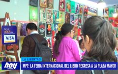 MPT: La feria internacional del libro regresa a Plaza Mayor