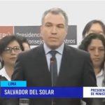 """Premier Del Solar : """"No nos quedaremos con los brazos cruzados"""""""