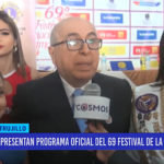 Presentan programa oficial del 69° Festival de Primavera