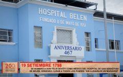 Se nombró a Don Felix Devoti como médico del hospital de San Sebastián de Belén