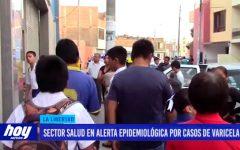 Sector Salud en alerta epidemiológica por casos de varicela