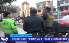Seguridad Ciudadana: Conducir ebrios y asaltos son delitos de mayor incidencia