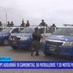 Municipio de Trujillo adquirirá vehículos para seguridad ciudadana