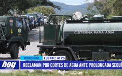 Honduras : reclaman por cortes de agua ante prolongada sequía
