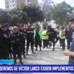 Serenos de Víctor Larco exigen implementos de seguridad