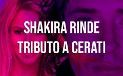 Shakira recuerda a Gustavo Cerati en Instagram