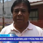 Vecinos exigen alcantarillado y pistas para Huerta Grande