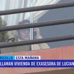 Allanan vivienda de exasesora de Luciana León