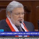 Tribunal Constitucional admite demanda competencial que busca restituir el Congreso