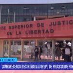 Comparecencia restringida a grupo de procesados por cerro el toro