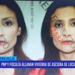 Policía Nacional y Fiscalía allanan vivienda de asesora de Luciana León