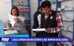 Seis farmacias y boticas no cumplen con requisitos para funcionar