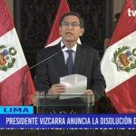 Mensaje a la nación: presidente Martín Vizcarra cerró el Congreso