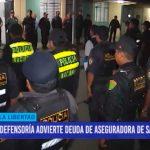 Policías no son atendidos en hospitales por deuda de aseguradora