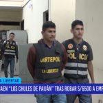 """Caen """"Los chules de Paiján"""" tras robar S/ 6,500 soles a empresario"""