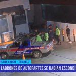 Trujillo: Ladrones de autopartes se habían escondido en grifo