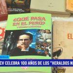 """UCV celebra 100 años de """"Los Heraldos Negros"""""""