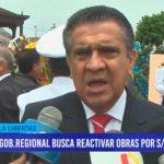 Gob. Regional busca reactivar obras por S/. 45 millones