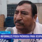 Informales piden prórroga para ocupar vía pública