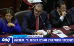"""Vizcarra: """"Olaechea estaría usurpando funciones"""""""