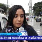 Los jóvenes y su análisis de la crisis política del país