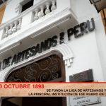 Se funda la liga de artesanos y obreros de Trujillo