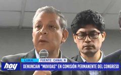 """Lima: Frente Amplio denuncia """"movidas"""" en Comisión Permanente del Congreso de la República"""