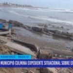 Municipio culmina expediente situacional sobre erosión costera