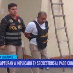 Capturan a implicado en secuestros al paso contra pasajeros