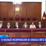 TC rechazó incorporación de Gonzalo de Zevallos