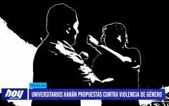 Universitarios harán propuestas contra violencia de género