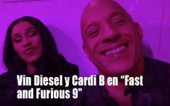 """Vin Diesel confirmó que Cardi B también formará parte de """"Fast and Furious 9"""""""